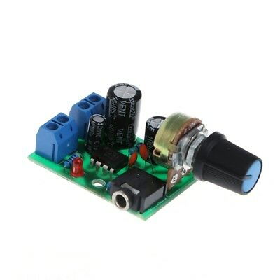LM386 Mini Audio Power Amplifier Board Adjustable Volume DC 3V~12V 5V Module