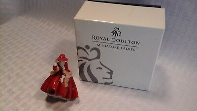 Royal Doulton Top O' The Hill M217 Miniature Ladies Collection