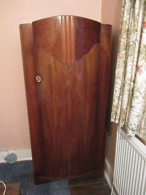 Art deco style single wardrobe