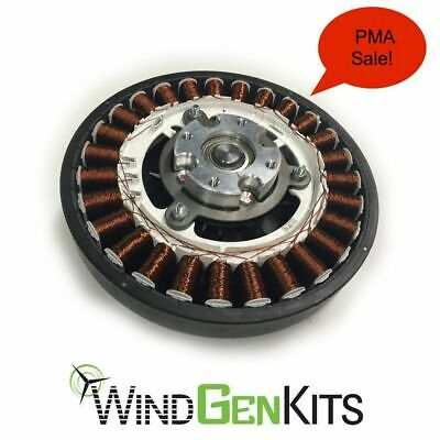 PMA - Permanent Magnet Alternator Wind Turbine Generator