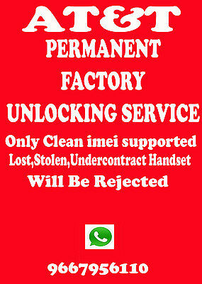 Network Unlock Code Samsung SGH-A737 At&t supported out of contract only