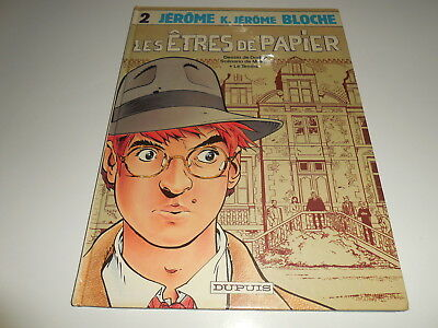 Eo Jerome K Bloche Tome 2/ Be