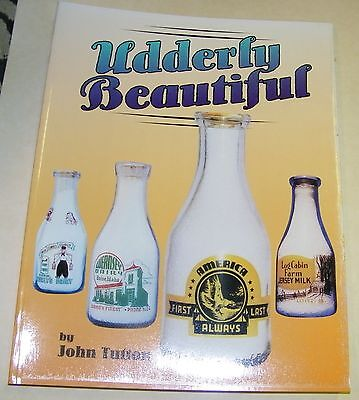 book- milk bottles-Udderly Beautiful-Tutton-1500 +pictured-history-useful info