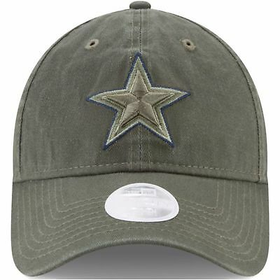 Dallas Cowboys 2017 On Field Salute to Service Womens Dad Hat