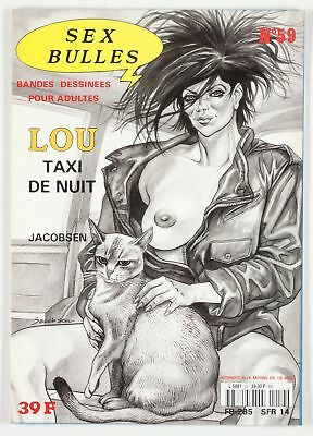 BD adultes  Sexbulles N°59, Lou, Taxi de nuit Centre audiovisuel de production