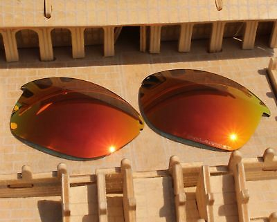 c75bf48f3aa2 ACOMPATIBLE Polarized Lenses Replacement for-Oakley Unstoppable OO9191 Fire  Red