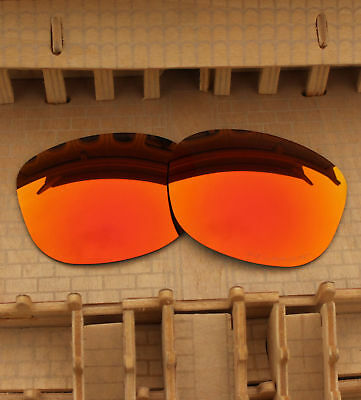 68c8fce54f16 ACOMPATIBLE Polarized Lenses Replacement for-Oakley Drop In OO9232 Fire Red