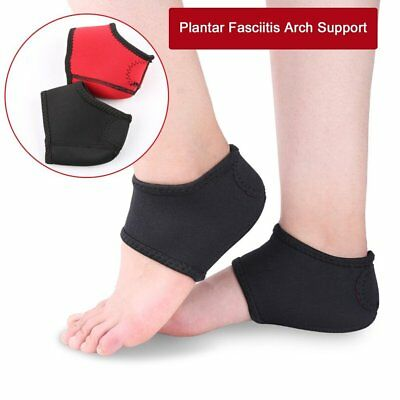Plantar Fasciitis Heel Arch Support Foot Pain Relief Sleeve Cushion Wrap HL