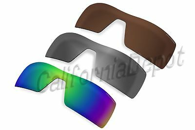3be3113d45 ACOMPATIBLE Polarized Lenses Replacement for-Oakley Oil Rig Sunglasses-3  Colors