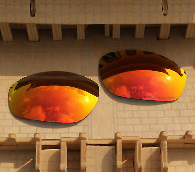 3c6e7d889f ACOMPATIBLE Polarized Lenses Replacement for-Oakley Encounter Fire Red  Mirror