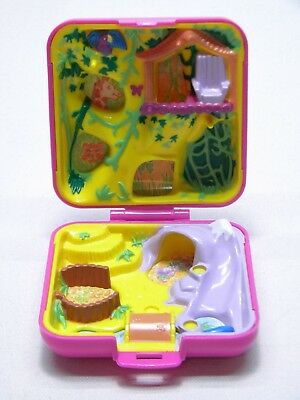 Vintage 1989 Polly Pocket Bluebird WILD ZOO WORLD - Compact Only - No figures