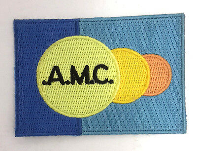 "Space:1999 TV Series A.M.C. Logo 3"" Wide Uniform Patch- USA Mailed  (SPPA-1907)"