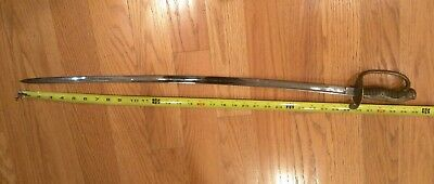 Japan - Occupied Taiwan WWll Police Officer Sword, no scabbard