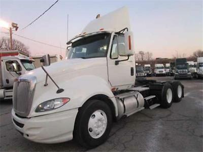 2011 International Prostar  233142 Miles White   Manual