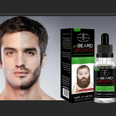Natural Organic Beard Oil Beard Growth Leave-in Hair Care Essential Oil
