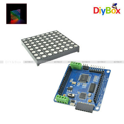 Red Dot Matrix Screen HT1632C LED Module 8X32 Resolution BBC Electronic Components & Semiconductors