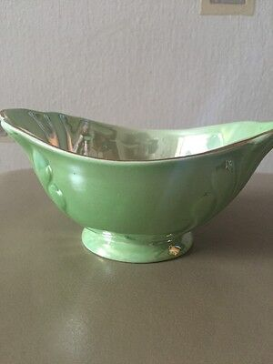 Maling Green Lustre Sugar Bowl