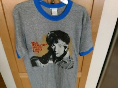 BRUCE SPRINGSTEEN* vtg rock concert world tour 84-85 shirt M 80s E-Street Band
