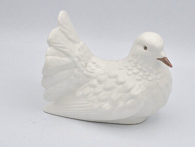 RARE VINTAGE GOEBEL PORCELAIN WHITE DOVE PIGEON BIRDS - MADE in W. GERMANY