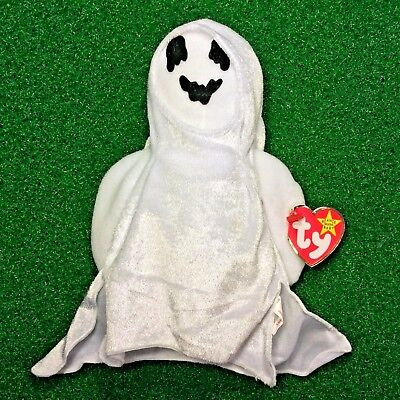 14a6736ad0e Original Ty Beanie Baby Sheets The Ghost 1999 Halloween Special MWNMT Ships  FREE