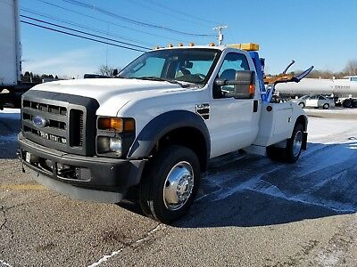 2008 Ford F-550 Wrecker Tow Truck Diesel Very Low Miles CSM Truck Sales