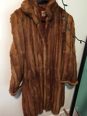 Lot Of 3 Vintage Mink +,  Furs Coat, Shrug and Shawl