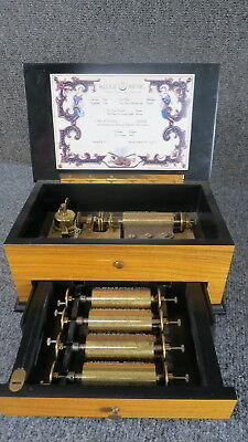 Reuge 5 Cylinder music box  C-1209