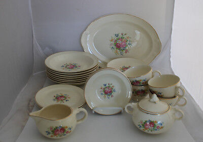 Taylor Smith Taylor Lu-Ray Pastels Replacement Dinnerware Floral Choice Vintage & TAYLOR SMITH Taylor Lu-Ray Pastels Replacement Dinnerware Floral ...