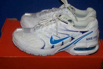 343851 104 NIKE AIR MAX TORCH 4 Women's Shoes White/Blue Size 7.5 Med NWOB