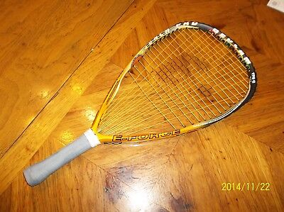 E-Force Bedlam 170g Wishbone frame gently used racquetball racquet