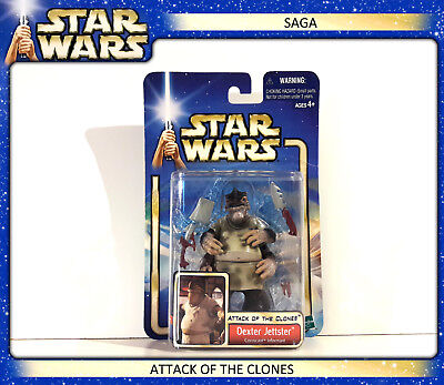 STAR WARS SAGA - Attack of the Clones: Dexter Jettster Coruscant Informant (OVP)