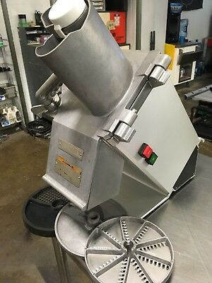 Hobart FP300 Commercial Food Processor with Three Blades NICE!