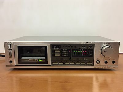 Toshiba PC-G50R Stereo Cassette Deck, Player Recorder, Soft Touch Control
