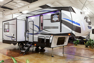 New 2018 285DRL4 Lite Light Weight Rear Living Room Half Ton Tow 5th Fifth Wheel