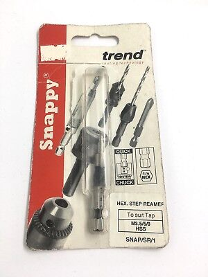 Trend Snap/sr/1 Snappy Step Reamer Taps M3.5 M5 M8