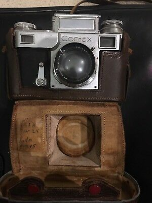 Vintage Zeiss Ikon Contax Camera