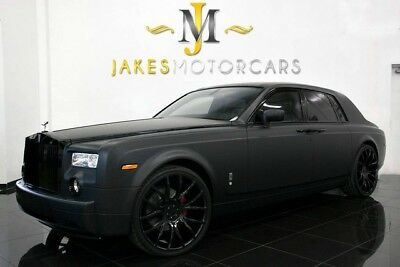 2004 Rolls-Royce Phantom (4-PLACE SEATING) 2004 Rolls-Royce Phantom, ONLY 16K MILES! 4-PLACE SEATING, MATTE BLACK WRAP
