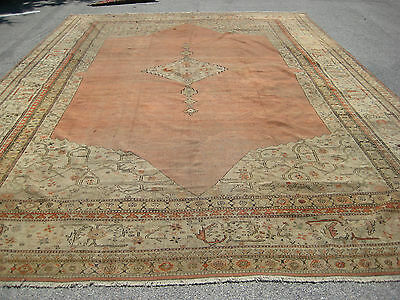 Palace size Antique P Turkish rugs c 19Th century museum  unique exquisite Art