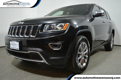 2015 Jeep Grand Cherokee 4WD 4dr Limited 2015 Jeep Grand Cherokee 4WD 4dr Limited Brilliant Black Crystal Pearlcoat SUV 3