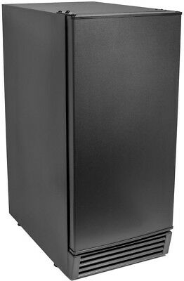 Maxx Ice 50 lb. Freestanding Economy Ice Maker in Black, ENERGY STAR