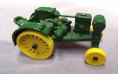 "TOY MINIATURE Metal DIECAST TRACTOR ~ WATERLOO BOY 1/16 scale 1"" x 2.25"" NO BOX"