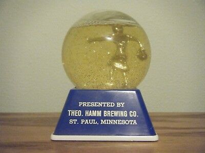Hamm's Beer Brewing Company Bowling Trophy 1960's Dixie Cream Donuts