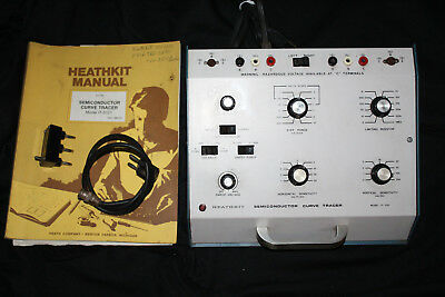 Heathkit IT-3121 Semiconductor Curve Tracer With Manual