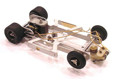 Very Rare 1965 1/24 Mila Miglia Cougar Ii Complete Rolling Racing Chassis