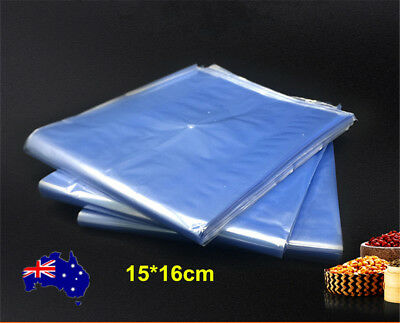 200X Heat Shrink Bag Wrap Film Packaging Seal Gift Packing PVC Shrinkable Pouch
