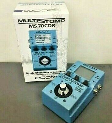 ZOOM MS-70CDR MULTISTOMP (Chorus, Delay, Reberb effect ) F/S with Tracking  JP