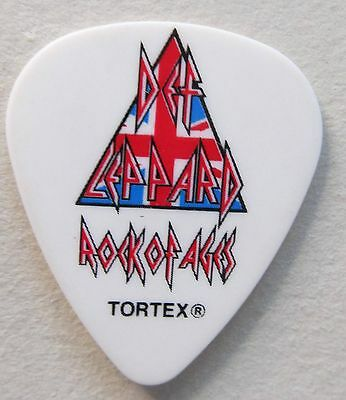 DEF LEPPARD Rick Allen 2012 Rock of Ages Guitar Pick