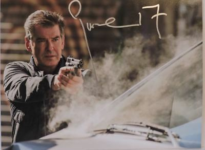 PIERCE BROSNAN SIGNED AUTOGRAPHED 007 JAMES BOND 11x14 PHOTO AUTOGRAPH