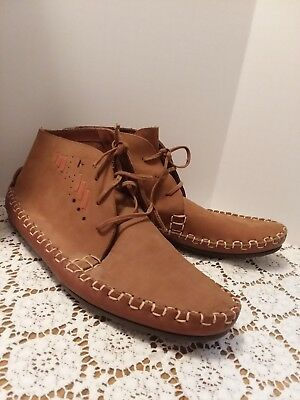 Moccasins Women's Size 10 Western Indian Bison Native American Shoe Casual