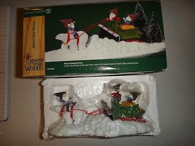 Dept 56 North Pole Woods Polar Plowing Service #56929